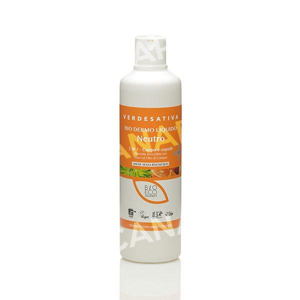 detergente naturale corpo