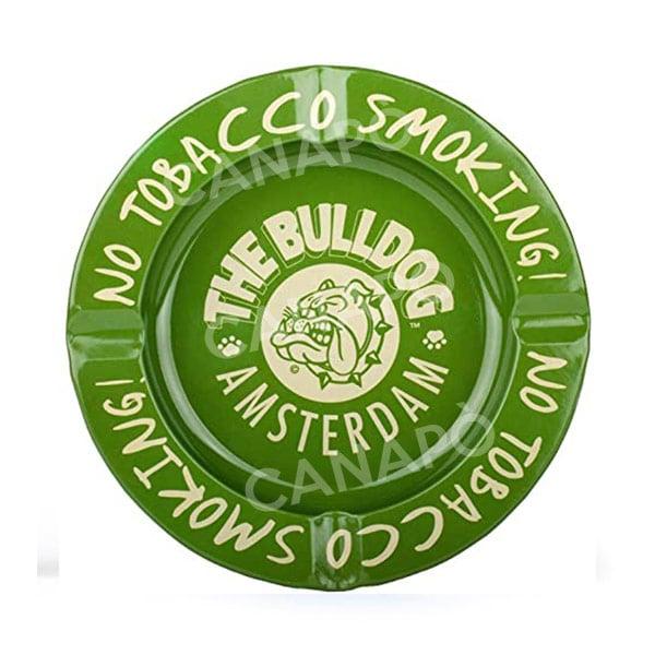 posacenere bulldog verde