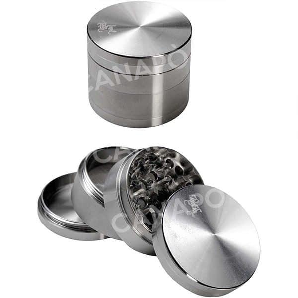 grinder black leaf silver