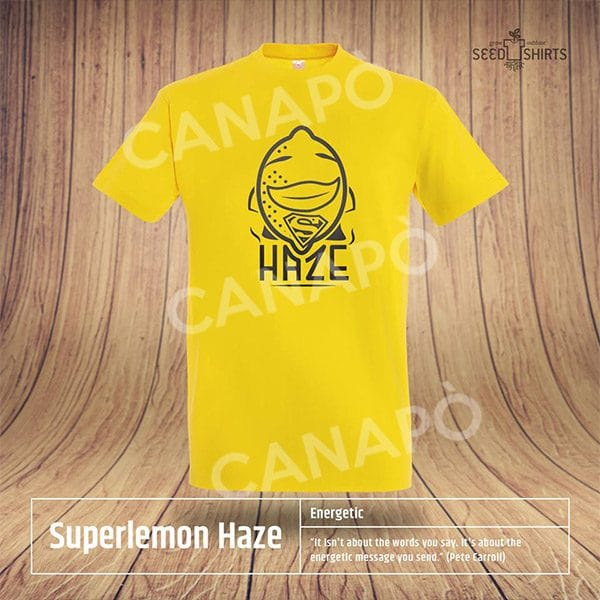 super lemon haze maglietta