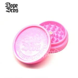 grinder dope bros acrilico rosa