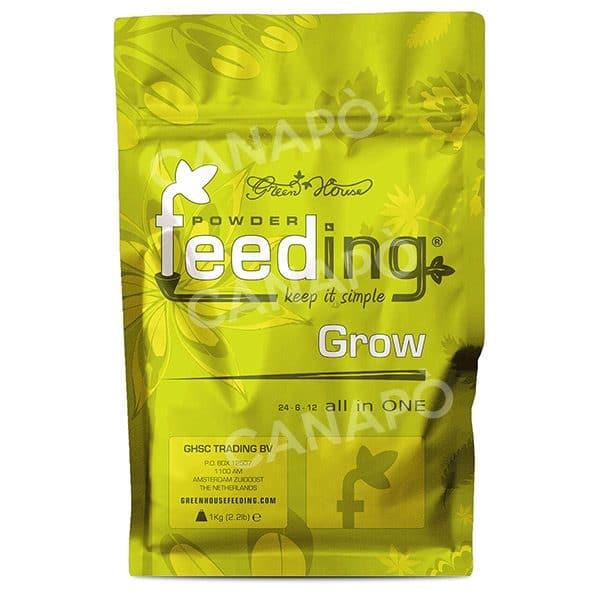 powder feeding grow