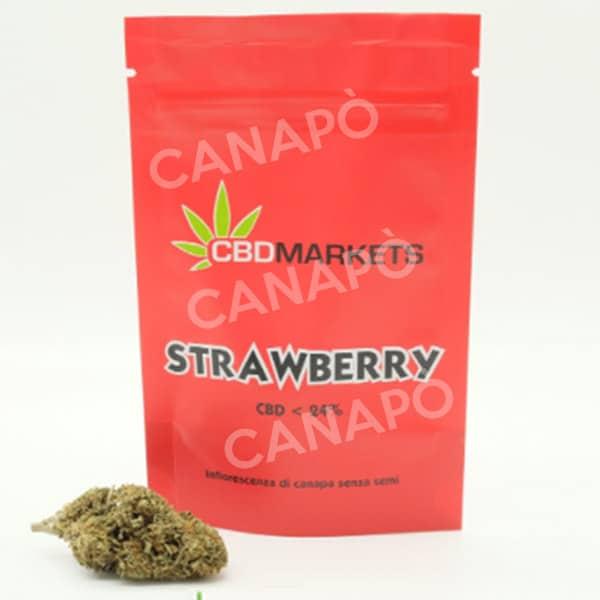 strawberry canapa light