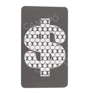 grinder card dollar