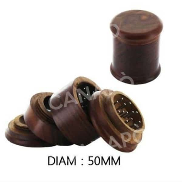grinder in legno 4 parti