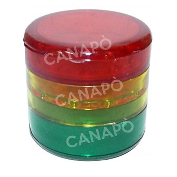 grinder plastica 4 parti