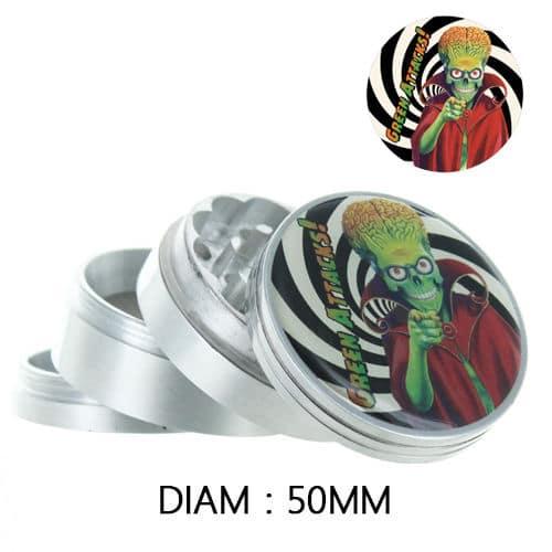 grinder alluminio