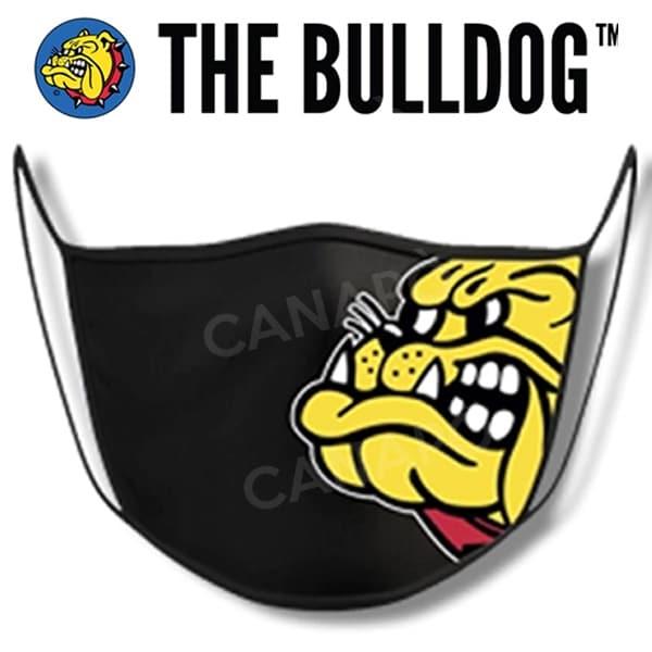 mascherina the bulldog