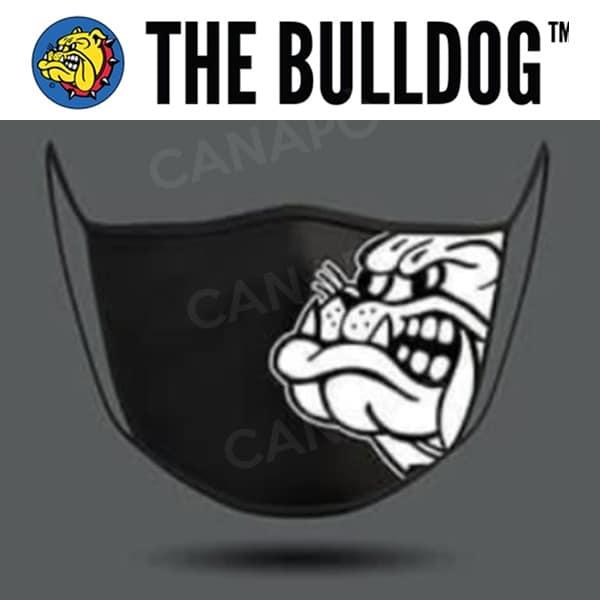 mascherina nera the bulldog