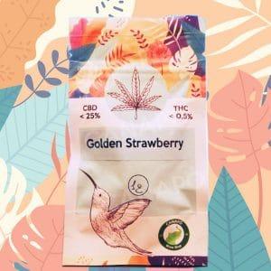 golden strawberry cannabis light