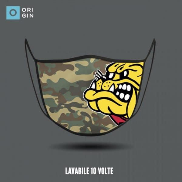 mascherina mimetica militare camouflage