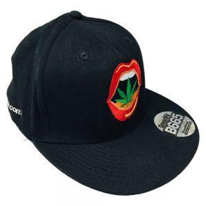 cappellino con visiera piatta Kannabia