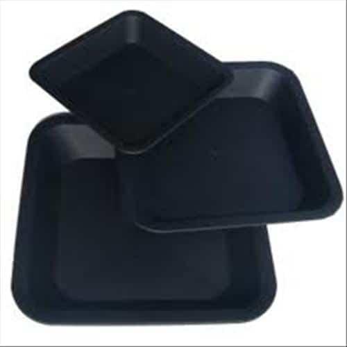 sottovaso quadrato per vasi da 6 litri