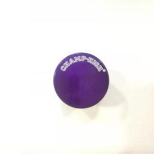 mini grinder in metallo viola