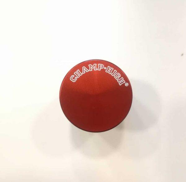 mini grinder in metallo rosso