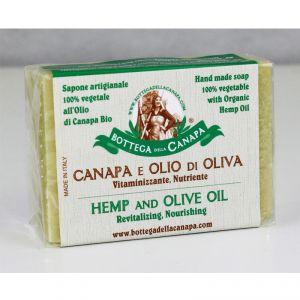 sapone vegetale canapa e olio di oliva