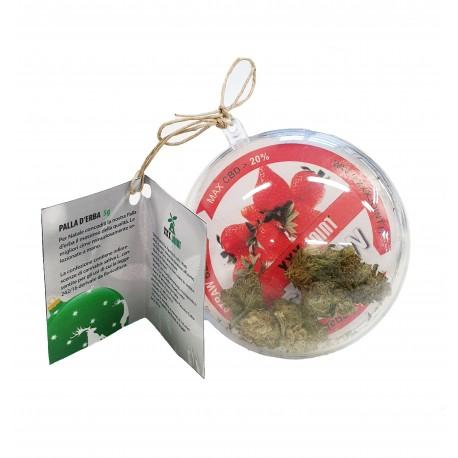pallina natalizia cannabis light legal hash cbd