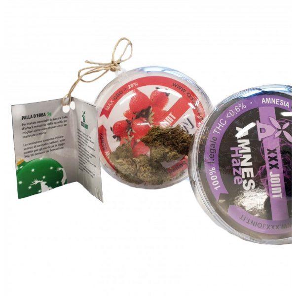 pallina natalizia cannabis light legal hashish cbd