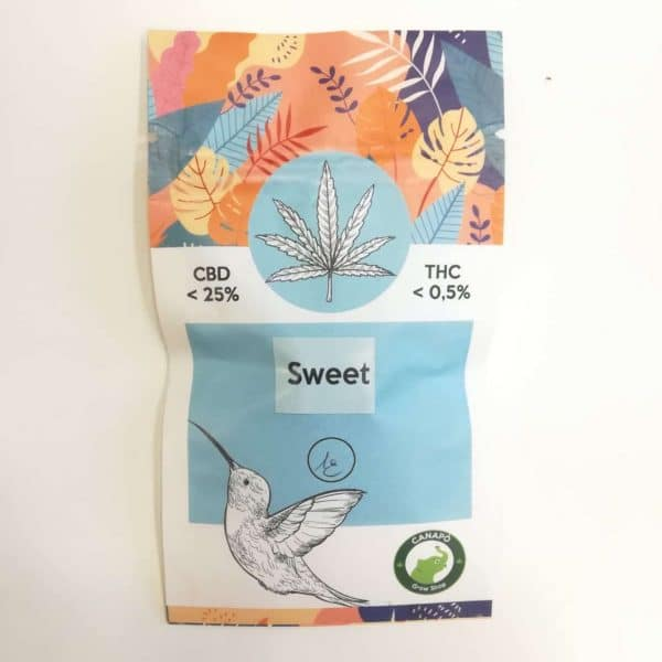 sweet cbd infiorescenze