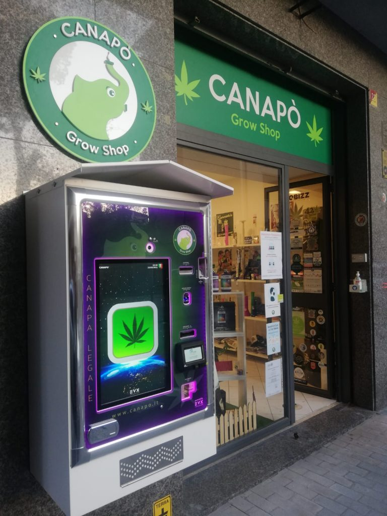 distributore automatico cannabis light legale cbd