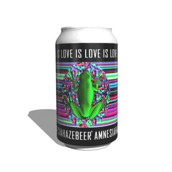 birra alla canapa artigianale amensia haze session pale ale beer