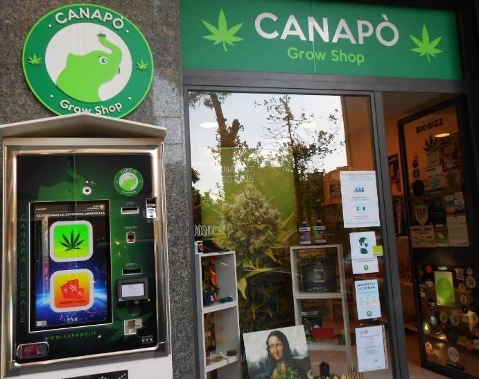 canapò grow shop online benevento
